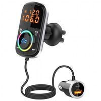 Trasmettitore FM USB MP3 Bluetooth PD / QC per l'auto