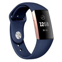 Cinturino in silicone Fitbit Charge 3 - blu - p
