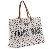 CHILDHOME Borsa Family Bag in Tela Leopardata