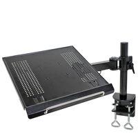 """NewStar Supporto da Tavolo per Laptop 10""""-22"""" Regolabile 57 cm Nero"""