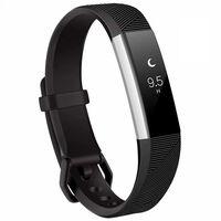 Bracciale Fitbit Alta / Hr In Silicone Nero (s)