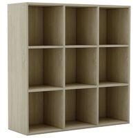 vidaXL Libreria Effetto Rovere Sonoma 98x30x98 cm in Truciolato