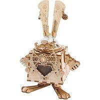 Robotime Kit Carillon Fai-da-te Modello Steampunk Bunny