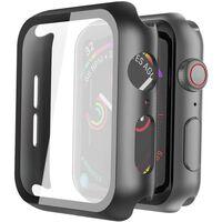 Protezione Schermo Apple Watch 4/5 40 Mm Vetro Temperato Nero