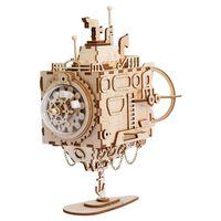 Robotime Kit Carillon Fai-da-te Modello Steampunk Submarine