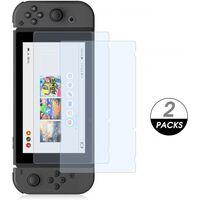 Protezione dello schermo in vetro temperato da 2 pezzi per Nintendo Sw