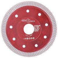 vidaXL Disco da Taglio Diamantato con Fori in Acciaio 115 mm