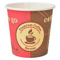 vidaXL Bicchieri da Caffè Monouso in Carta 1000 pz 120 ml (4 oz)