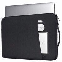 Custodia per laptop in tela da 14,1 pollici - nera