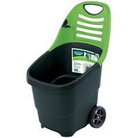 Draper Tools Carrello da Giardino Expert 65 L Verde 78643