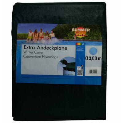 Summer Fun Copertura Invernale per Piscina Rotonda 300 cm in PVC Verde