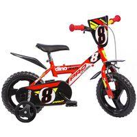 """Dino Bikes Bicicletta per Bambini Pro-Cross Rossa 12"""" DINO356004"""