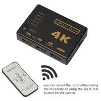 Switch HDMI 5x1 - 4K2K / 3D con telecomando