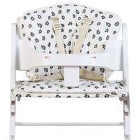 CHILDHOME Cuscino Universale per Seggiolone Jersey Leopardato