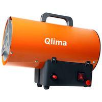 Qlima Riscaldatore ad Aria Forzata a Gas GFA 1010 25 W Arancione