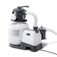 Intex Pompa con Filtro a Sabbia Krystal Clear 26646GS 7,9 m³/h