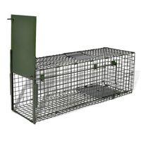 vidaXL Trappola per Animali Vivi con 1 Porta