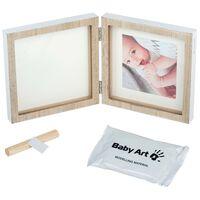 Baby Art Cornice per Stampa in Legno Quadrata