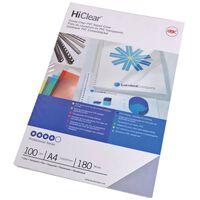 GBC Set Copertine per Rilegatura HiClear A4 240 Micron