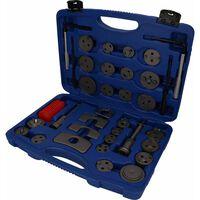 BRILLIANT TOOLS 35 Piece Brake Piston Caliper Wind Back Kit