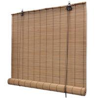 vidaXL Tenda Avvolgibile in Bambù 150x160 cm Marrone