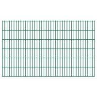 vidaXL 2D Pannelli Recinzione Giardino 2,008x1,23 m 6 m (Totale) Verde