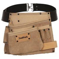 Toolpack Cintura Professionale per Attrezzi Singola Elite Beige