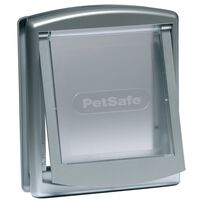 PetSafe Porta per Animali a 2 Direzioni 737 Piccola 17,8x15,2 cm Argento 5019