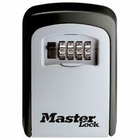 Master Lock 5401EURD Cassaforte Combinata a Muro per Chiavi