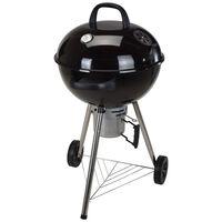 ProGarden Griglia Barbecue con Bollitore 57,5 cm