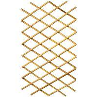 Nature Pergolato da Giardino 45x180 cm Bambù 6040720
