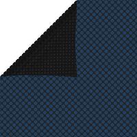 vidaXL Pellicola Galleggiante Solare PE Piscina 600x300 cm Nero e Blu