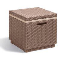 Allibert Cubo Refrigeratore Ice Cube Cappuccino 223761