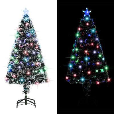 vidaXL Albero di Natale Artificiale con Supporto/LED 120 cm 135 Rami