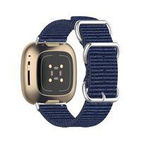 Bracciale Fitbit Sense / Versa 3 Navy Blue (S)