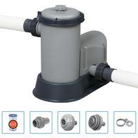 Bestway Pompa con Filtro per Piscina Flowclear 5678 L/h