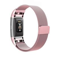 Bracciale Fitbit Charge 2 anello milanese - Rosepink L