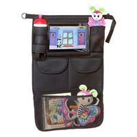 A3 Baby & Kids Organizer per Auto con Supporto per Tablet Nero