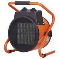 Qlima Stufa Elettrica a Ventola EFH 6020 2000 W Arancione