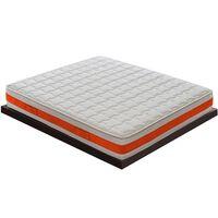 Materasso 140x190 In Memory Foam Rinfrescante – 11 Zone Di Comfort