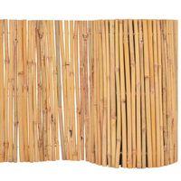 vidaXL Recinzione in Bambù 500x50 cm