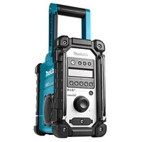 Makita Radio da Cantiere senza Batterie e senza Caricatore Blu e Nero